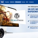 Hébergement Wordpress 1and1