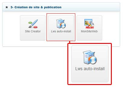 Comment installer WordPress avec LWS ?
