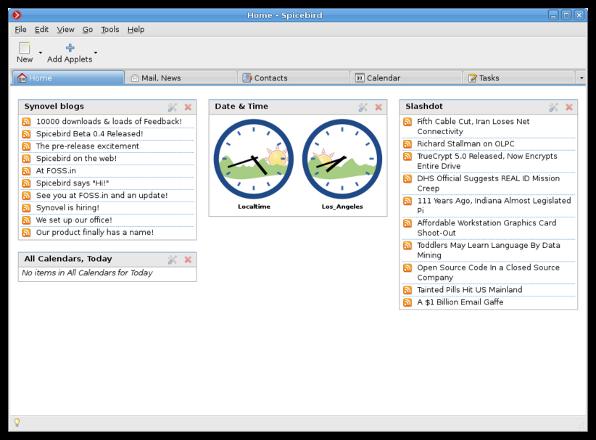 spicebird meilleur client email pour Linux Windows et Mac OS X