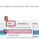 Comment modifier les DNS chez 1and1