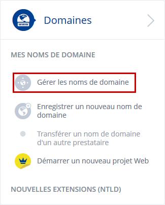 Comment modifier les paramètres DNS chez 1and1 ?