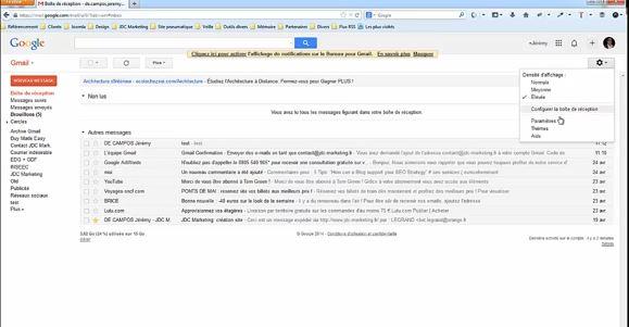 comment relier ovh webmail à gmail